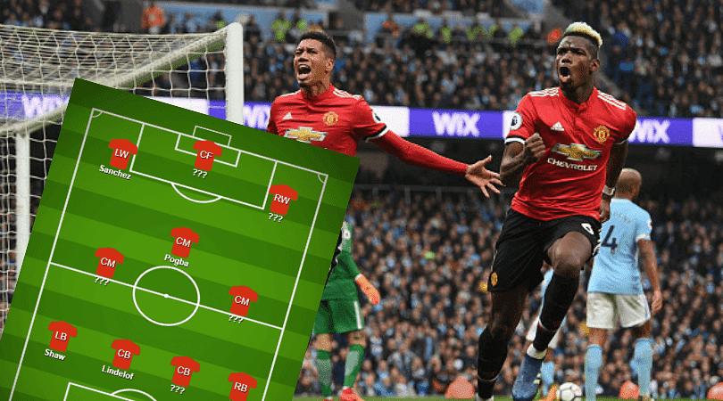 Man Utd vs Man City lineups: Manchester United predicted line up vs Man City