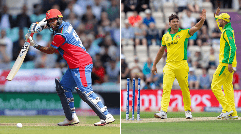 Afghanistan vs Australia Head to Head Record in ODIs | ICC Cricket World Cup 2019 Match 4