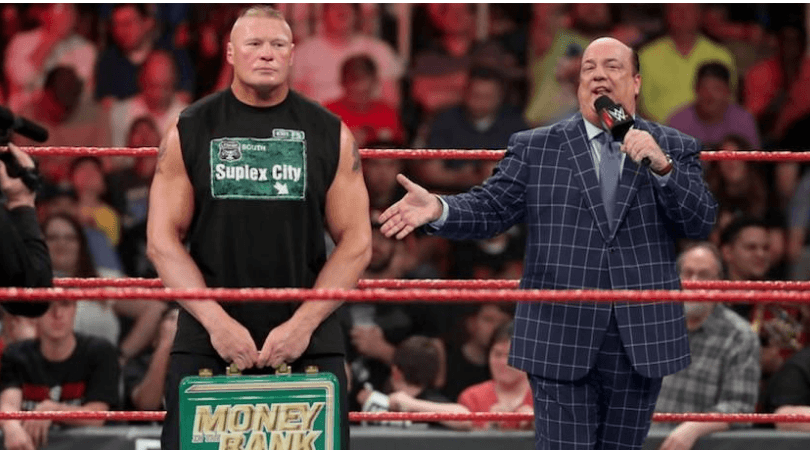 Brock Lesnar: Why the Beast Winning the Money in The Bank was the right decision