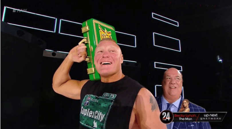 Brock Lesnar: WWE Money in the Bank participants were unaware that the beast would win