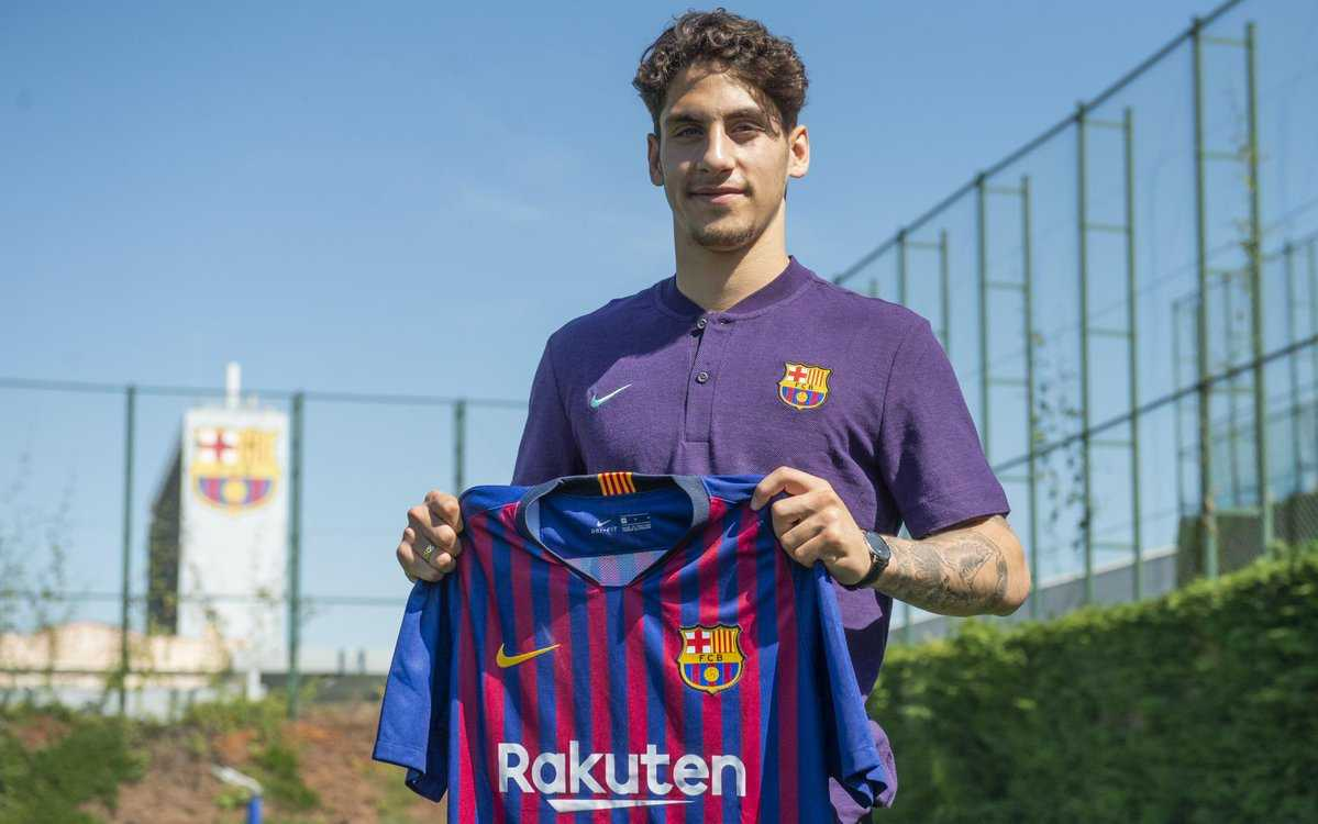 Ludovit Reis to Barcelona: Barcelona confirm the signing of 18-year-old starlet from Groningen