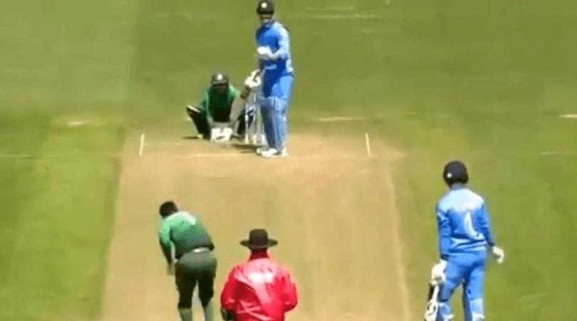 MS Dhoni sets field for Bangladesh during 2019 World Cup warm-up match | WATCH