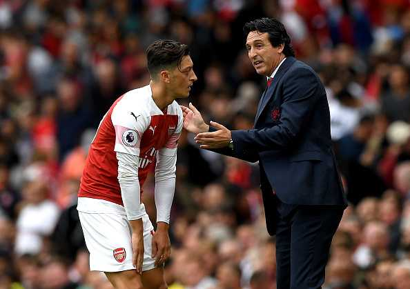 Mesut Ozil: Unai Emery takes massive decision on Arsenal star's future at the Emirates Stadium