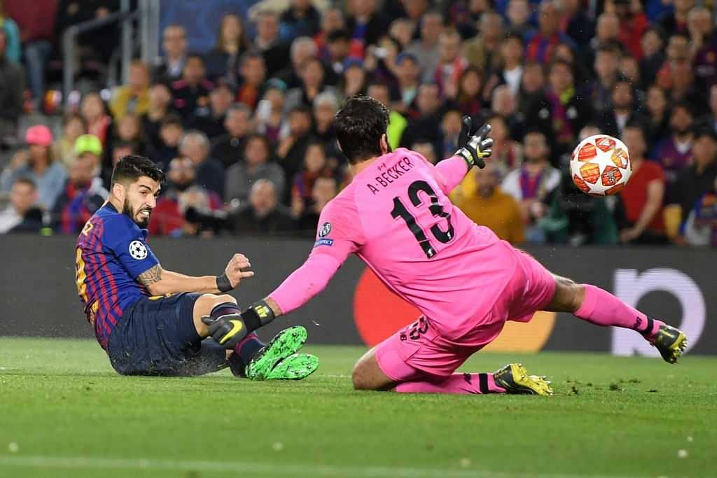 Luis Suarez goal vs Liverpool: Ex-Liverpool striker scores brilliant poacher's goal in CL semi final
