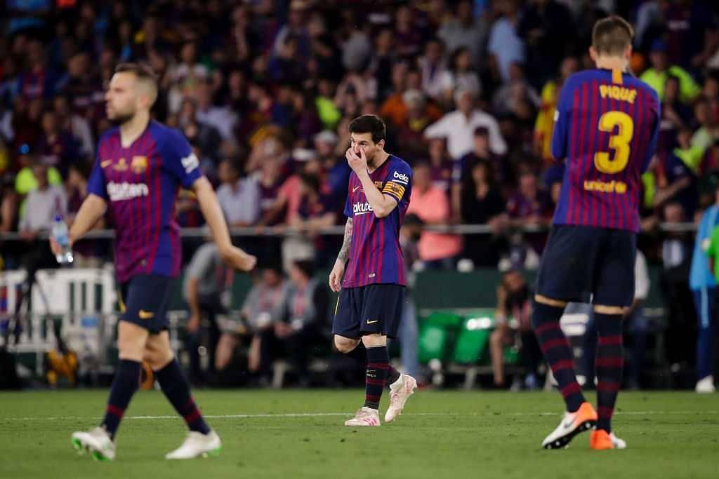 Barcelona Vs Valencia: Twitter reactions on Barcelona shockingly losing Copa Del Rey final to Valencia