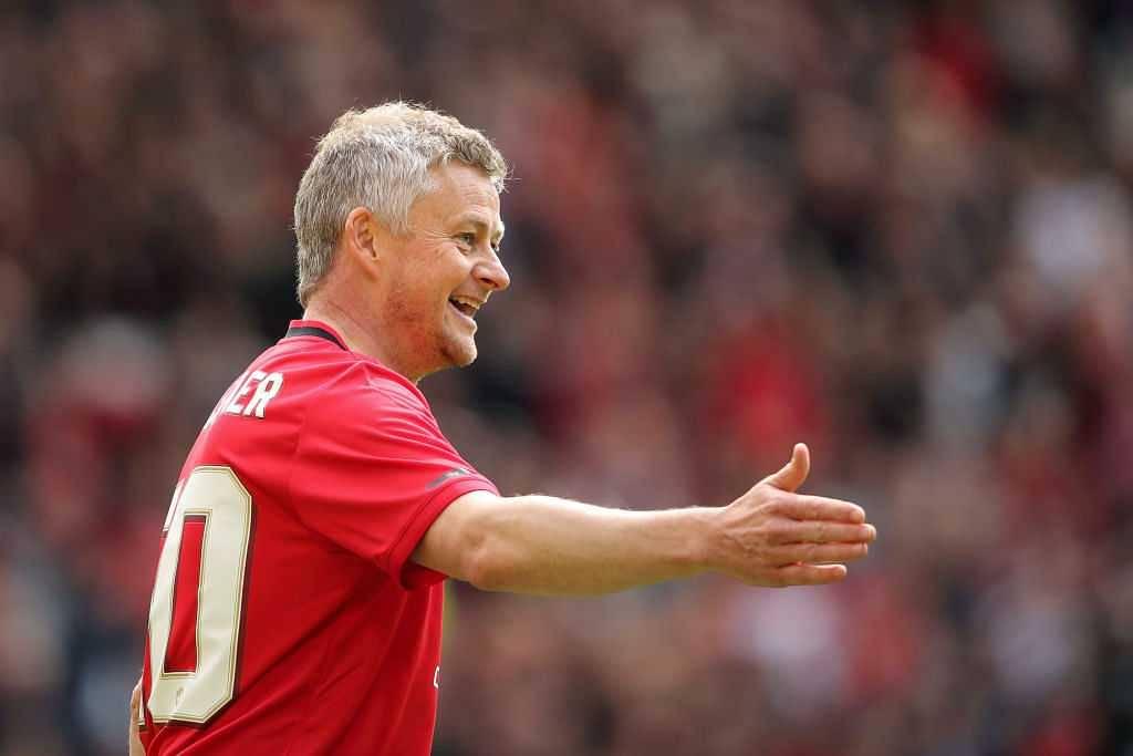 Ole Solskjaer goal Vs Bayern Munich: Watch Man Utd manager scores goal against Bayern Munich legends