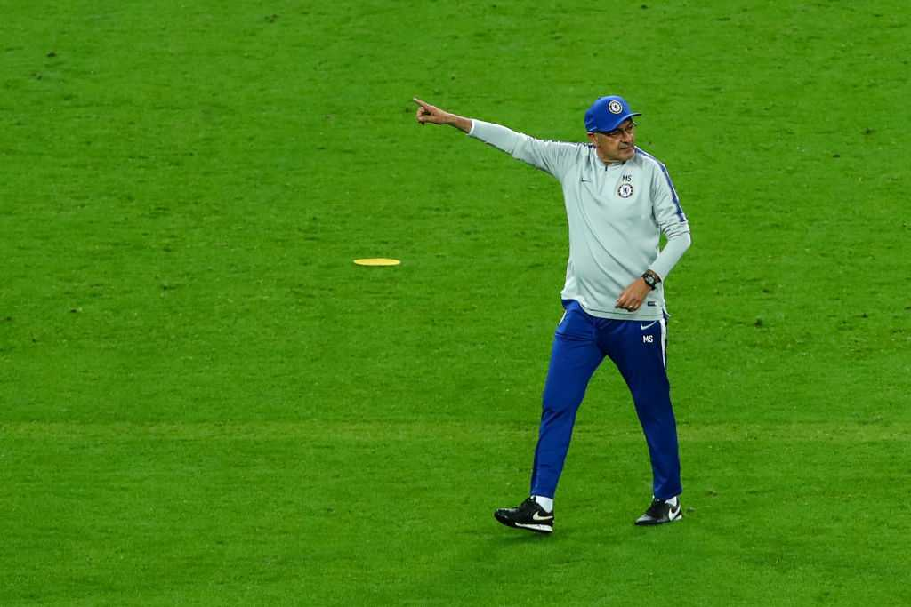 Maurizio Sarri: Reason behind Chelsea manager leaving training ground are not players