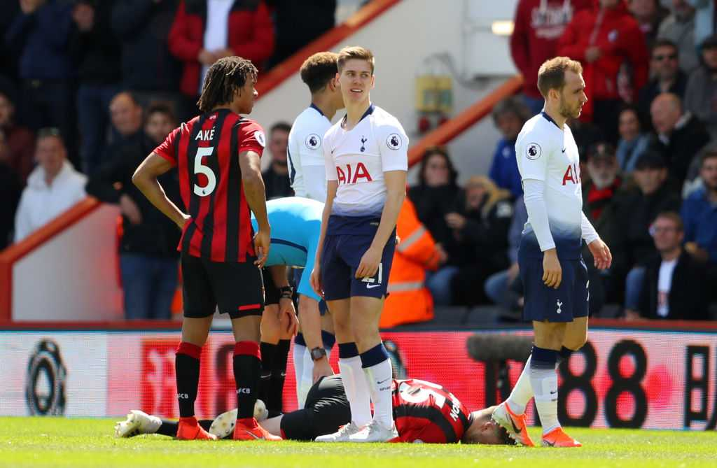 Juan Foyth red card vs Bournemouth: Tottenham receive second red card for horrendous leg breaking tackle
