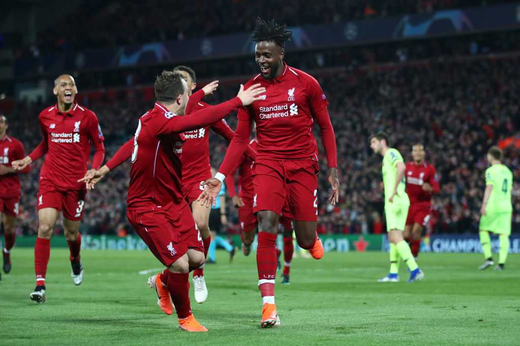 Liverpool 4th goal vs Barcelona: Watch Origi and Robertson take advantage of a sleepy Barcelona defense to make it 4-0