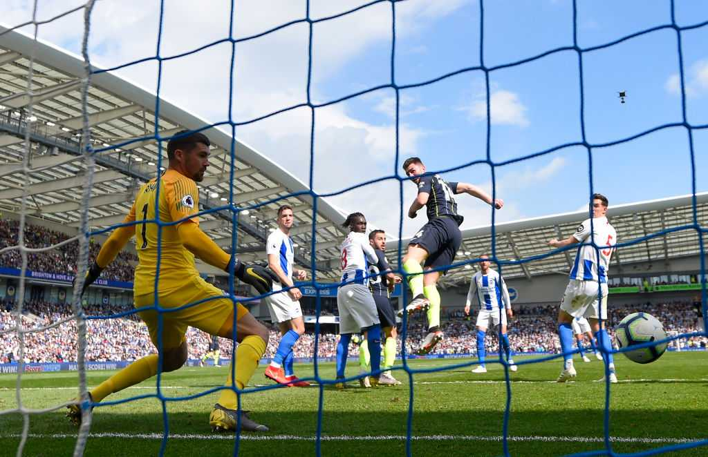 Aymeric Laporte goal Vs Brighton: watch Citizen defender gives a 2-1 lead to Manchester City to win the title