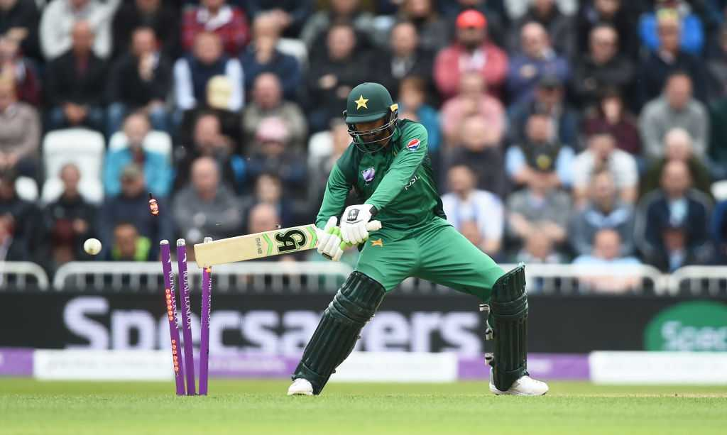 Shoaib Malik hit-wicket vs England