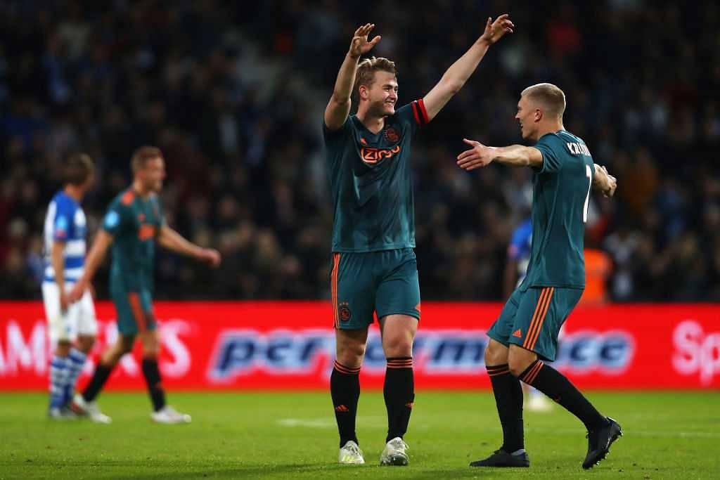 Matthijs De Ligt: Ajax captain makes massive transfer claim amidst Barcelona and Man United interest