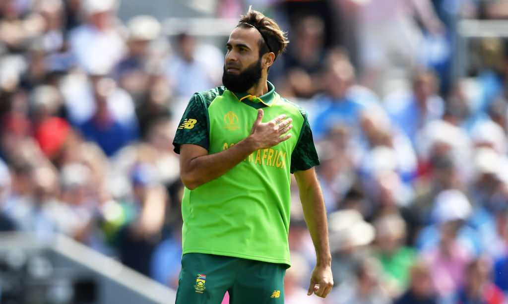 Imran Tahir: Watch South African bowler Tahir take Jonny Bairstow's wicket on second ball of Cricket World Cup 2019