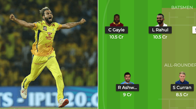 KXIP vs CSK Dream 11 Prediction: Best Dream11 team for today's KXIP vs CSK match | IPL news