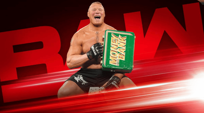 Brock Lesnar: Former Universal Champion makes first Raw Appearance post Wrestlemania