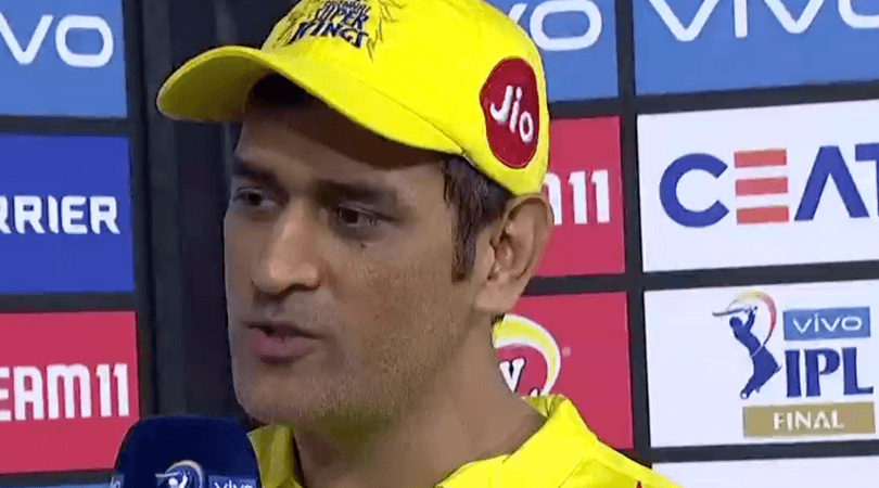 MS Dhoni comments on CSK losing IPL 2019 Final vs MI; reveals reasons for loss in IPL Final vs MI