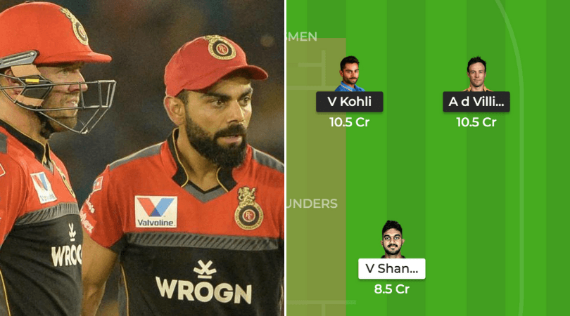 RCB vs SRH Dream 11 Prediction: Best Dream11 team for today's RCB vs SRH match | IPL News