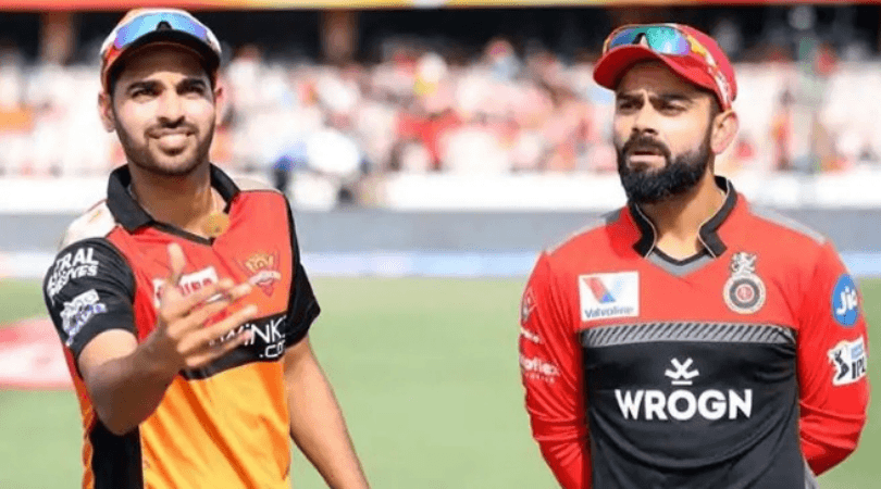 RCB vs SRH Head to Head Records