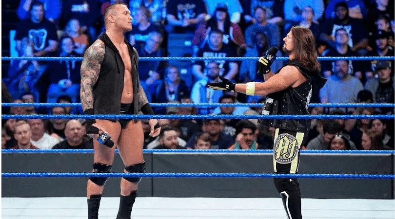 Randy Orton: The Viper takes a dig at AJ Styles on Social Media
