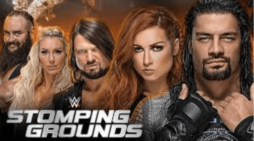 WWE News: Three matches advertised for the WWE Stomping Grounds Pay per View