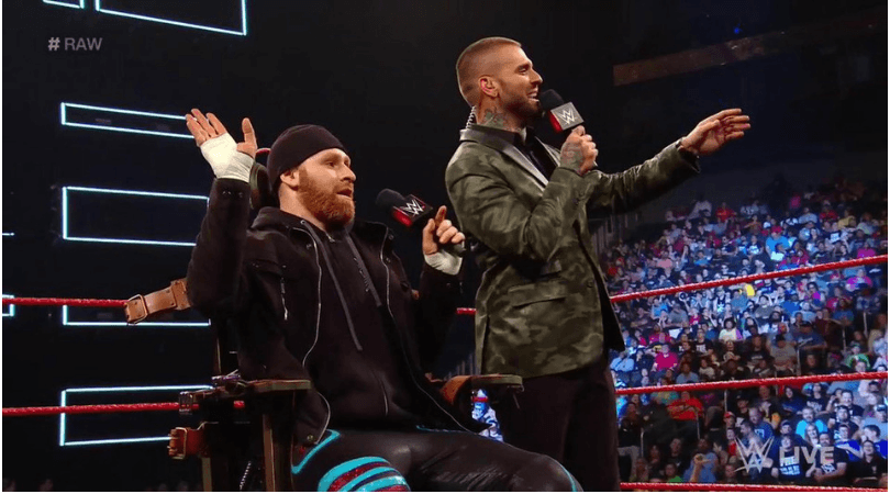 Sami Zayn: AEW name drop was reportedly scripted