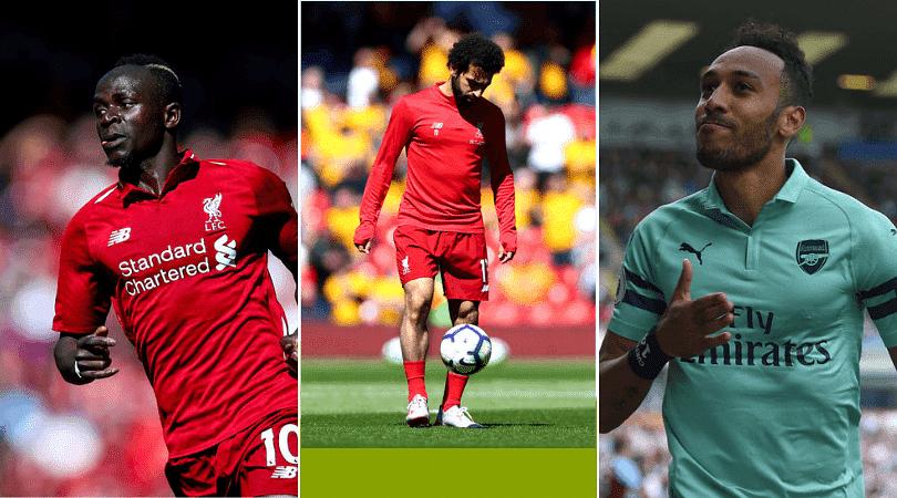 Premier league golden boot: who got the award for most goals between Mane, Salah and Aubameyang