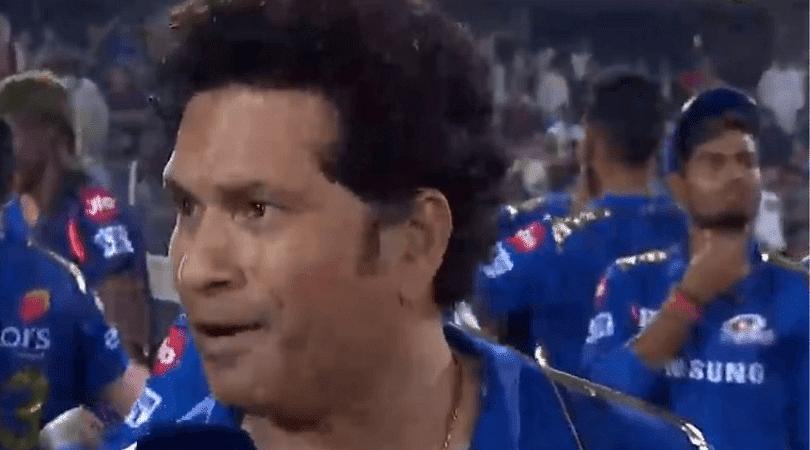 Tendulkar discloses MS Dhoni-related key moment