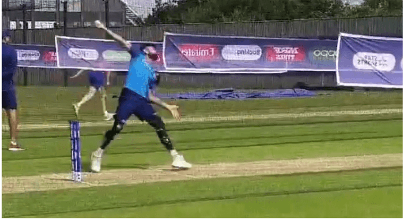 Virat Kohli: Watch Indian captain bowling off-spin during practice session ahead of opening match in Southampton