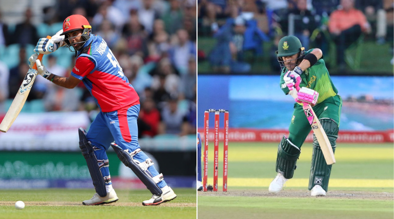 AFGH vs SA Dream 11 Prediction: Best Dream11 team for today's Afghanistan vs South Africa   2019 Cricket World Cup