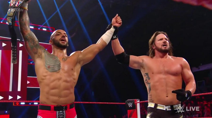 """AJ Styles Vs Ricochet: """"The Phenomenal one"""" and """"The one and only"""" put on an incredible match"""