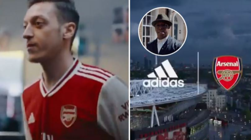 Adidas accidentally leak Arsenal's new home kit promo video featuring Ian Wright