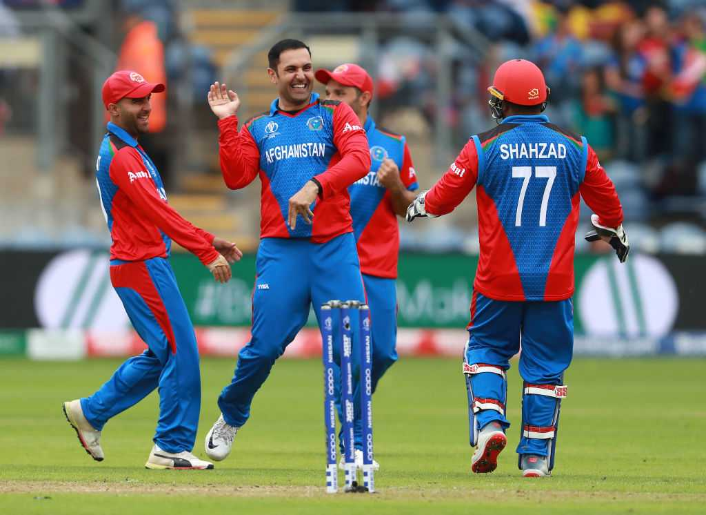 Mohammad Nabi: Watch Afghanistani star takes three wickets in one over vs Sri Lanka   ICC Cricket World Cup 2019