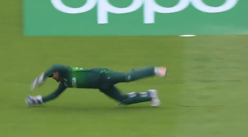 Sarfaraz Ahmed catch vs New Zealand: Watch Pakistani captain grabs excellent diving catch to dismiss Ross Taylor