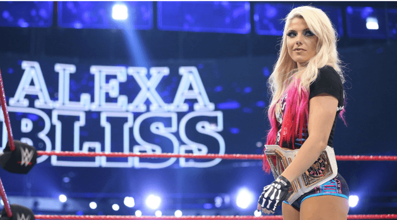 Alexa Bliss on Instagram: 5-time women's champion mocks Becky by calling her 'Becky 2 loss'