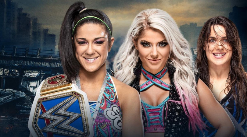 Alexa Bliss to take on Bayley for the SmackDown women's championship at Extreme Rules