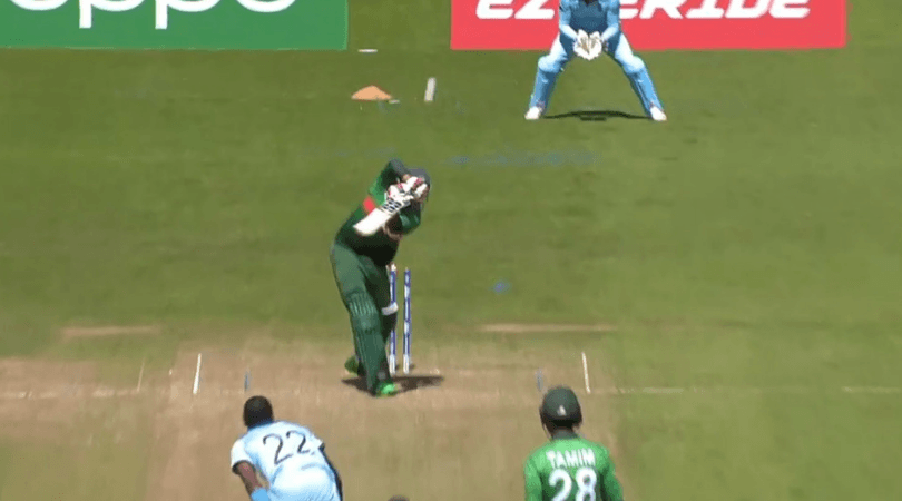 Jofra Archer bowled dismissal goes for six: Watch Soumya Sarkar gets bowled off Archer; ball flies into boundary