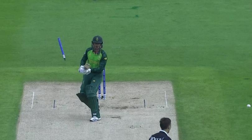 Quinton de Kock dismissal vs NZ: Watch South African opener gets bowled by Trent Boult's jaffa