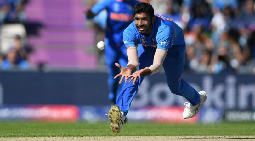 WATCH: Jasprit Bumrah dismisses Rahmat Shah and Hashmatullah Shahidi in one over   2019 Cricket World Cup