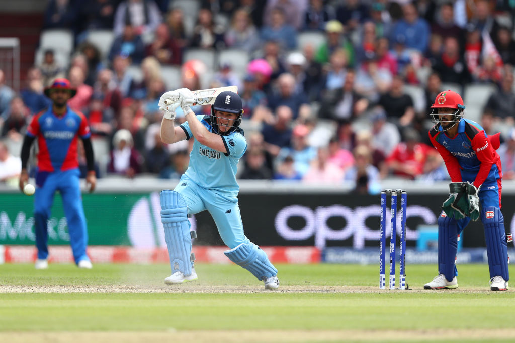 Twitter reactions on Eoin Morgan's 57-ball century vs Afghanistan in ICC Cricket World Cup 2019