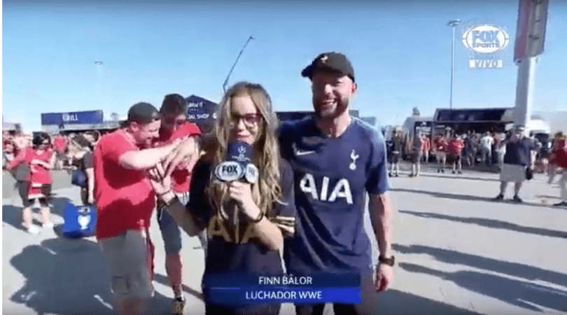 Finn Balor: Watch the InterContinental Champion drunkenly make his relationship public at the Champions League Final