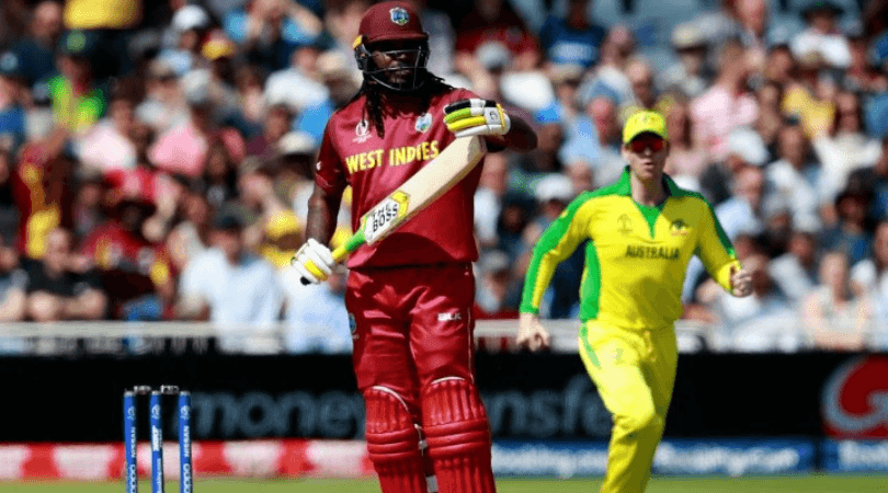 Chris Gayle dismissal vs Australia: Watch drama unfolds before and during Gayle's dismissal