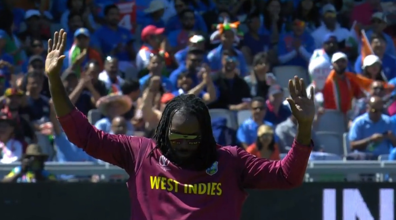 WATCH: Chris Gayle celebrates jubilantly after brilliant fielding effort vs India in 2019 Cricket World Cup