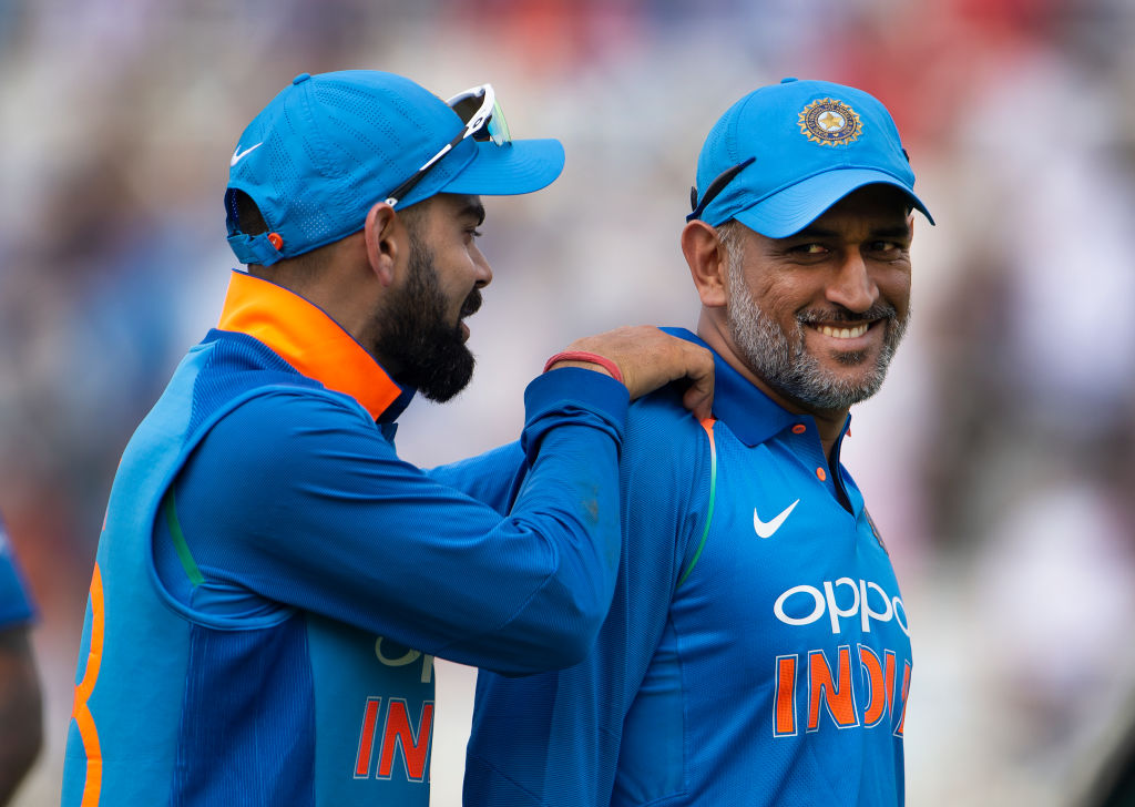 Indian team's fitness coach admires Virat Kohli and MS Dhoni for their fitness standards