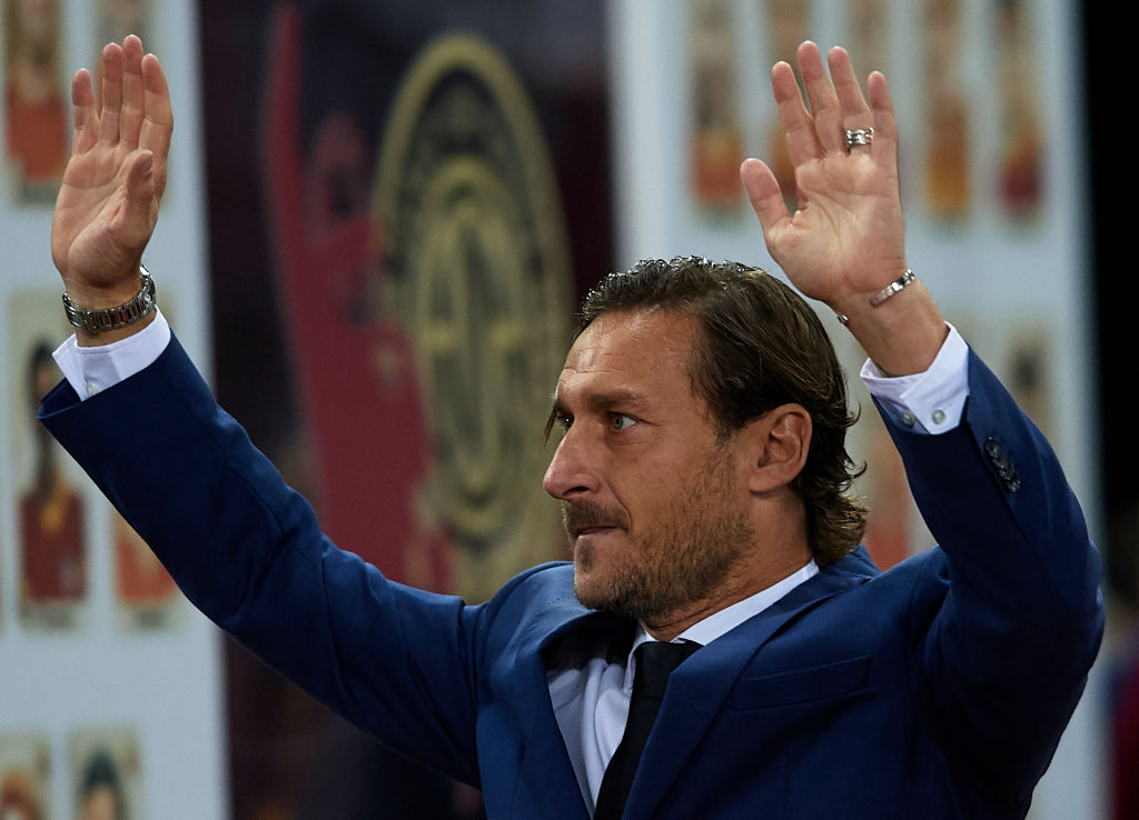 Francesco Totti: Club legend lashes out Roma's board as he leaves the club after 30 years