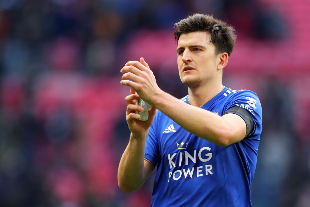 Harry Maguire: Leicester City name astronomical price for defender as Man Utd and Man City queue up