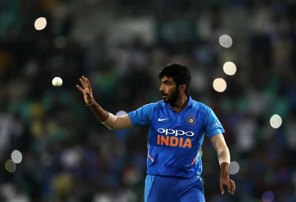 Jasprit Bumrah: The Indian fast bowler goes through doping test ahead of India's World Cup opening match
