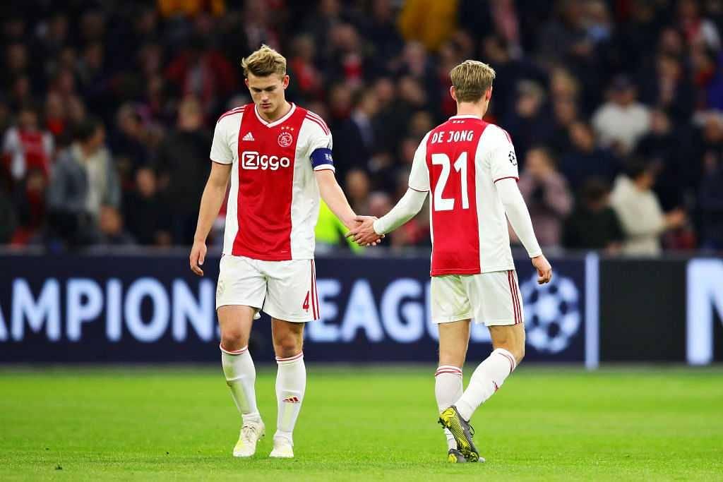 Matthijs De Ligt: Frankie De Jong urges teammate to join him at Barcelona