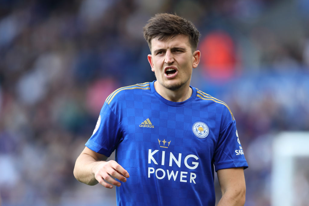 Harry Maguire: Leicester City defender confirms Red Devils move with social media activity
