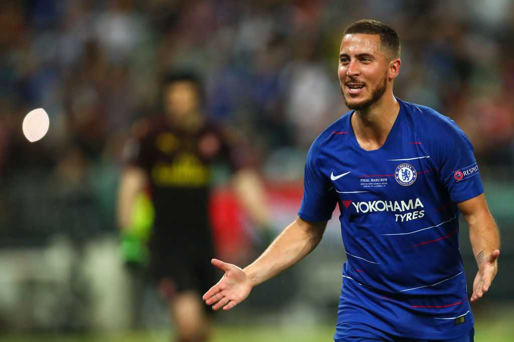 Eden Hazard Transfer News: Chelsea star moves inch closer as he poses with Real Madrid jersey