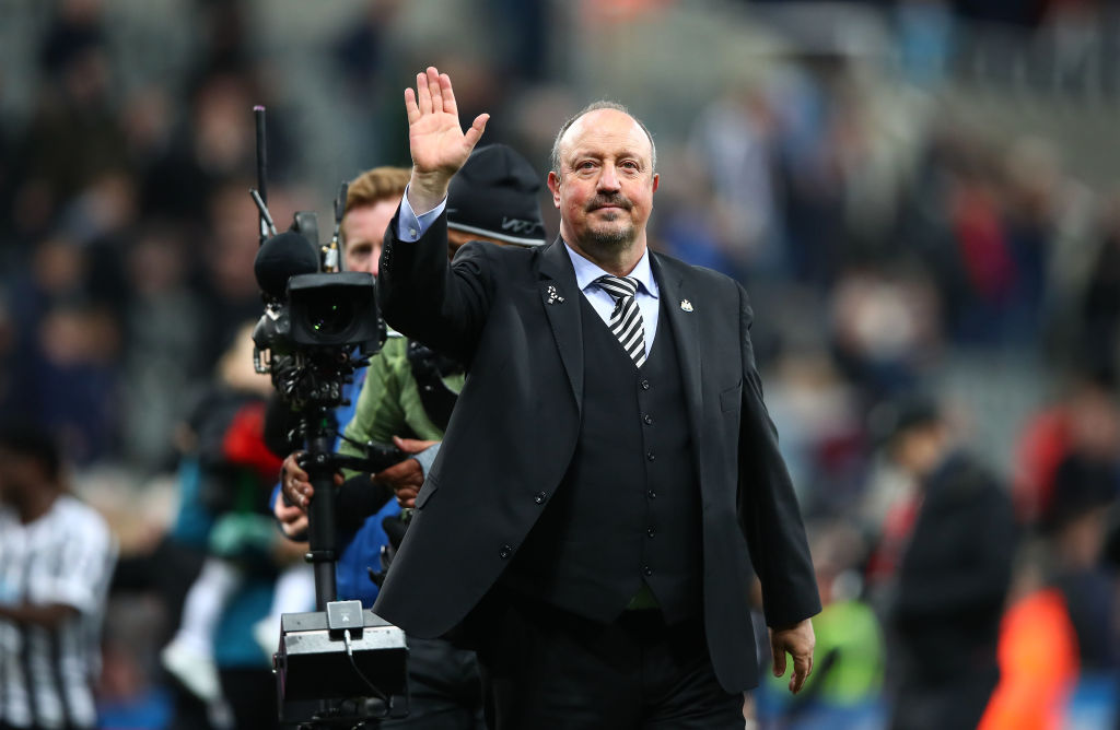 Rafa Benitez: Newcastle confirm departure of their manager from St. James Park